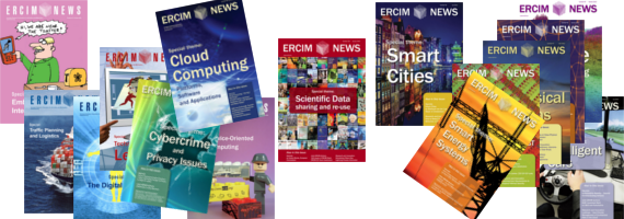 illustration cover ERCIM news