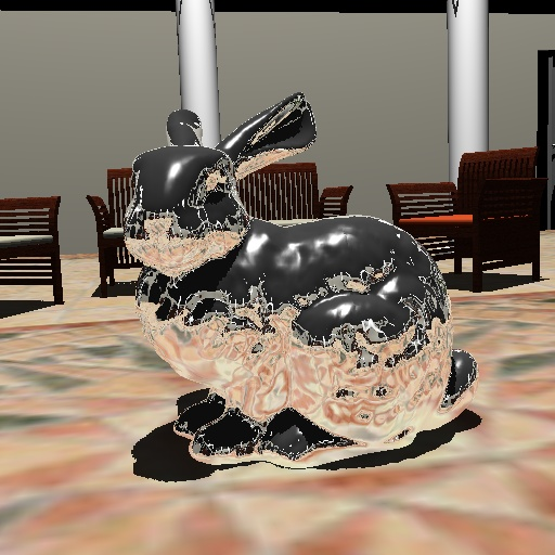 Inria - Whitted Ray-Tracing for Dynamic Scenes using a Ray