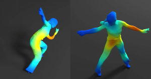 On Mean Pose and Variability of 3D Deformable Models