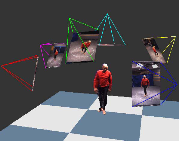 The GrImage Platform: A Mixed Reality Environment for Interactions
